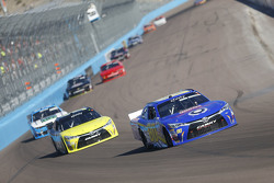 Ross Kenseth, Hattori Racing Enterprises Toyota and Mike Bliss, TriStar Motorsports Toyota