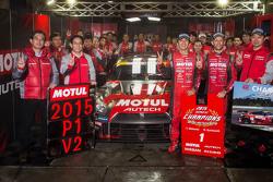 2015 GT500 Champion Tsugio Matsuda and Ronnie Quintarelli, Nismo