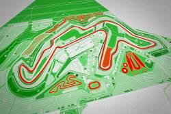 Map van Circuit van Wales