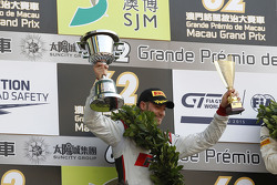 Podium: second place Edoardo Mortara, Audi Sport Team Phoenix