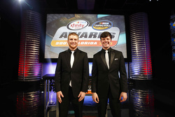 NASCAR Truck Series champion Erik Jones, NASCAR Xfinity Series champion Chris Buescher