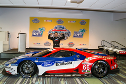 A happy Joey Hand with the Chip Ganassi Racing Ford GTLM