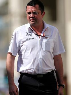 Eric Boullier, McLaren F1 Team