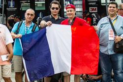 French fans of Jeff Gordon