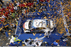 Podium: race winner Sébastien Loeb, Citroën C-Elysée WTCC, Citroën World Touring Car team, second place Jose Maria Lopez, Citroën C-Elysée WTCC, Citroën World Touring Car team, third place Yvan Muller, Citroën C-Elysee WTCC, Citroën World Touring Car team and Hugo Valente, Chevrolet RML Cruze TC1, Campos Racing