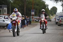 #6 Honda: Joan Barreda and #92 KTM: Antonio Gimeno