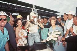 Race winner Pat Flaherty