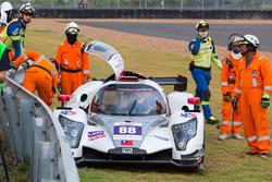 #88 AAI Adess 03 LMP3赛车冲出赛道