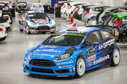 Ford Fiesta RS WRC met nieuwe kleuren voor 2016