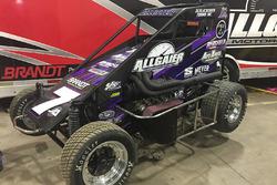 Justin Allgaier's sprint car