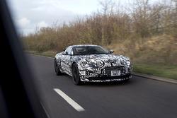Aston Martin DB11 spyfoto