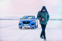 Automotive Photos - José Mourinho prend le volant de la Jaguar F-Pace