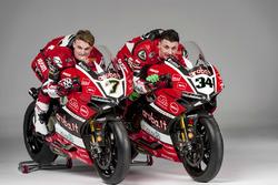 Davide Giuliano and Chaz Davies, Team Aruba.it