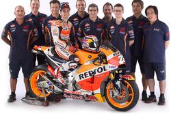 Dani Pedrosa, Repsol Honda Team with his team