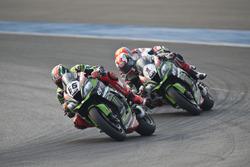 Tom Sykes, Kawasaki Racing Team and Jonathan Rea, Kawasaki Racing Team