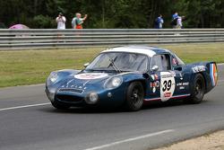 #39 Alpine Renault A210 1968: Philippe Papin, Francois Bourdin