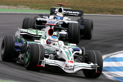 Jenson Button, Honda Racing F1 Team, Nico Rosberg, Williams F1 Team