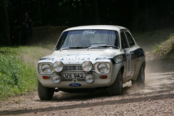 Roy Cathcart, 1972 Ford Escort Mk1 RS1600 (ex Roger Clark)