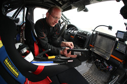 Porsche team member at work