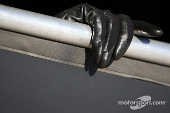 A McLaren Mercedes mechanics glove