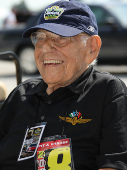 Legendary voice of the Speedway, Tom Carnegie