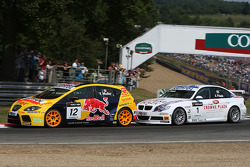 Yvan Muller, SEAT Sport, SEAT Leon TDI and Andy Priaulx, BMW Team UK, BMW 320si WTCC