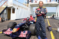 Red Bull demonstration, Lake Balaton, Gerhard Berger, Scuderia Toro Rosso, 50% Team Co Owner