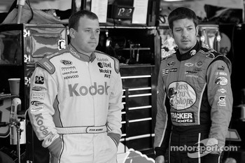 Ryan Newman and Martin Truex Jr.