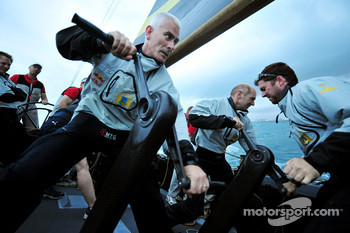Red Bull Racing and Scuderia Toro Rosso, sailing trip, Geoff Willis, Red Bull Racing, Technical Director