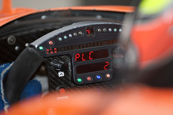 Steering wheel and instrument panel of Enrique Bernoldi
