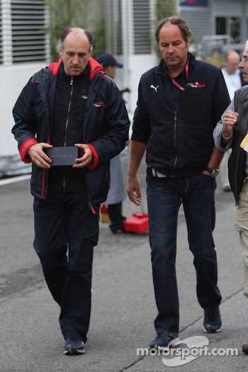 Franz Tost, Scuderia Toro Rosso, Team Principal an Gerhard Berger, Scuderia Toro Rosso, 50% Team Co Owner