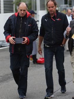 Franz Tost, Scuderia Toro Rosso, Team Principal an Gerhard Berger, Scuderia Toro Rosso, 50% Team Co Owner
