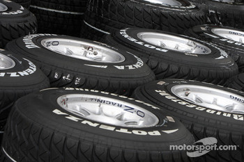 Wet bridgestone tyres