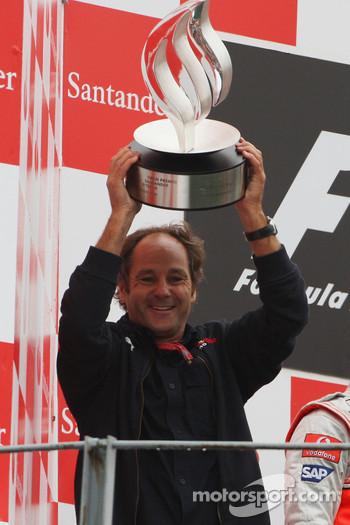 Podium: Gerhard Berger, Scuderia Toro Rosso, 50% Team Co Owner