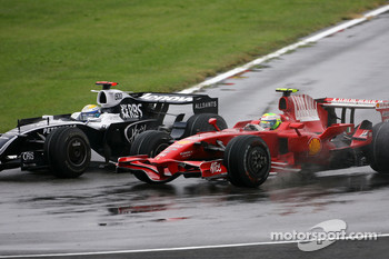Nico Rosberg, Williams F1 Team, Felipe Massa, Scuderia Ferrari