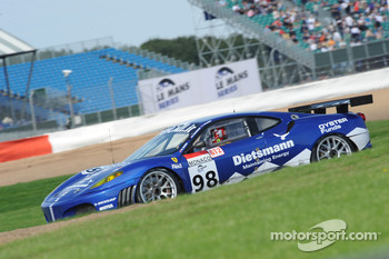 #98 JMB Ferrari F430 GT: Maurice Basso, Peter Kutemann