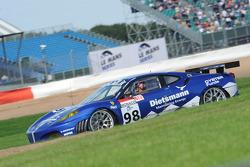 #98 JMB Ferrari F430 GT: Maurice Basso, Peter Kutemann