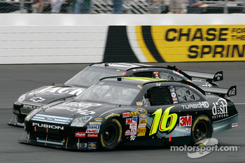 Greg Biffle and Clint Bowyer