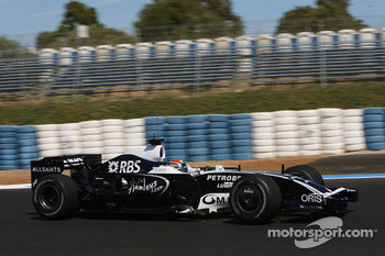Dani Clos, Test Driver, Williams F1 Team, FW30