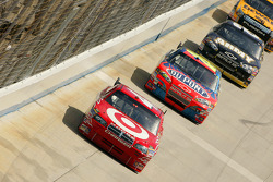 Reed Sorenson leads Jeff Gordon