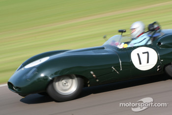 Sussex Trophy race: Mark Hales – 1959 Lister-Jaguar 'Costin'