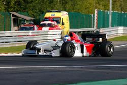2nd lap at Les Combes: Klaas Zwart (NL) Ascari, F1 Benetton B197 Judd 4.0 V10