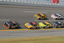 Denny Hamlin leads the field