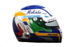 Fabio Onidi , driver of A1 Team Italy helmet