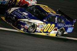 A.J. Allmendinger races Mike Skinner