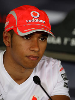FIA Thursday press conference: Lewis Hamilton, McLaren Mercedes