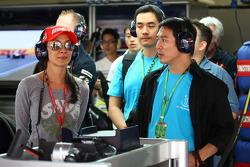 Michelle Yeoh Girlfriend of Jean Todt with Jet Li, martial artist, actor