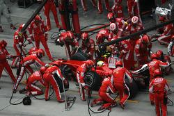 Felipe Massa, Scuderia Ferrari, pitstop