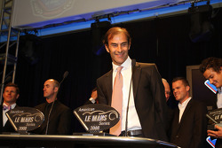 Emanuele Pirro, P1 driver receiving a standing ovation