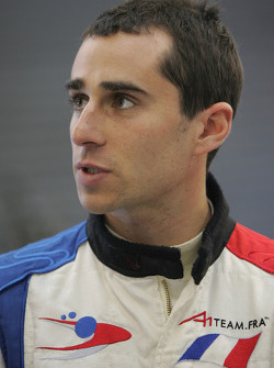 Nicolas Prost, driver of A1 Team France